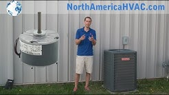 How to Replace an Condenser Fan Motor - HVAC A/C Motor Install