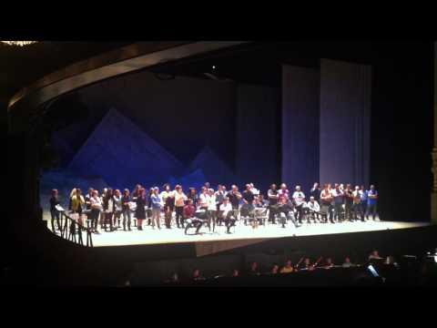 Coro Intermezzo. Ensayo La Fille Du Regiment (6)