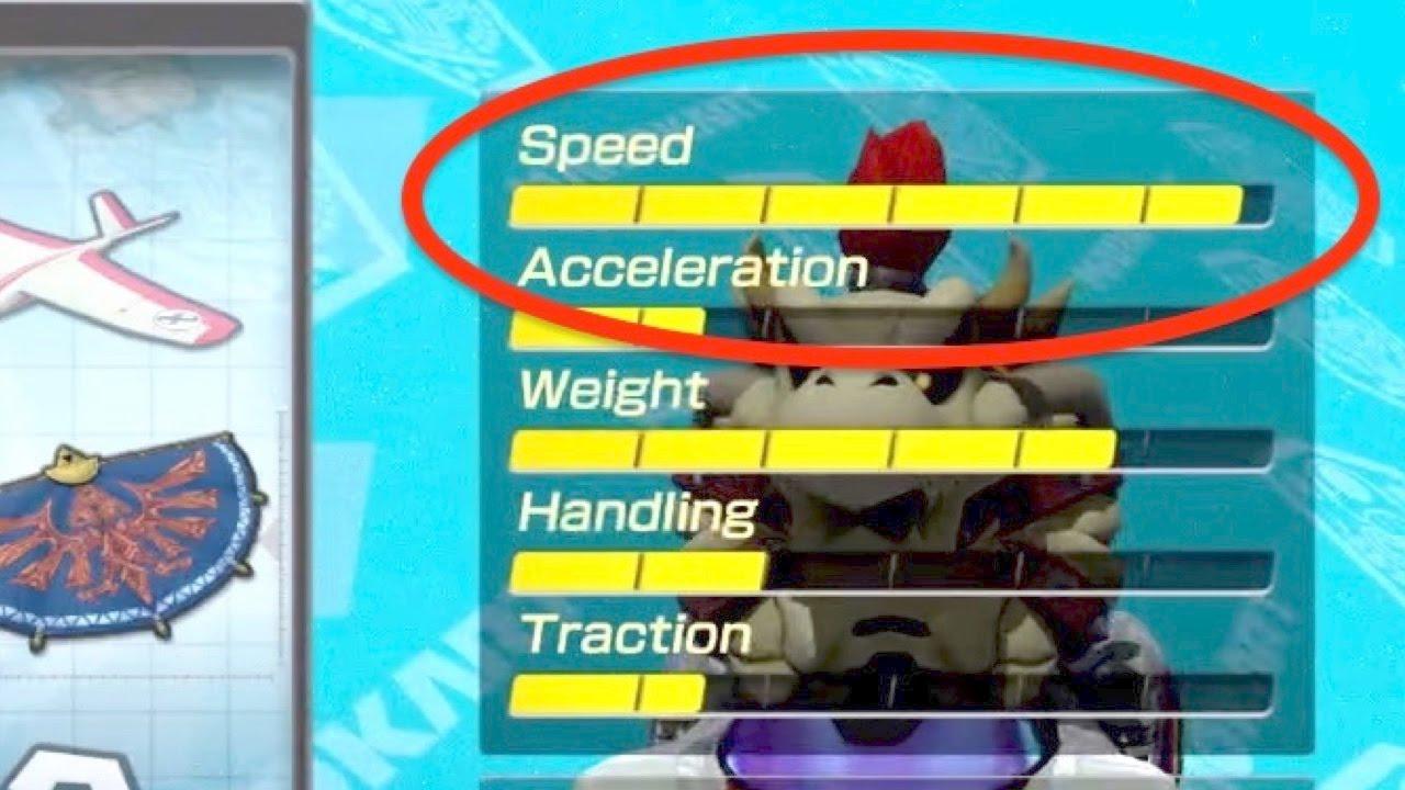 Nintendo Mario Kart 8 Deluxe 150cc Banana Cup Dry Bowser Triple