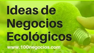 Top 10 Ideas de Negocios Ecologicos