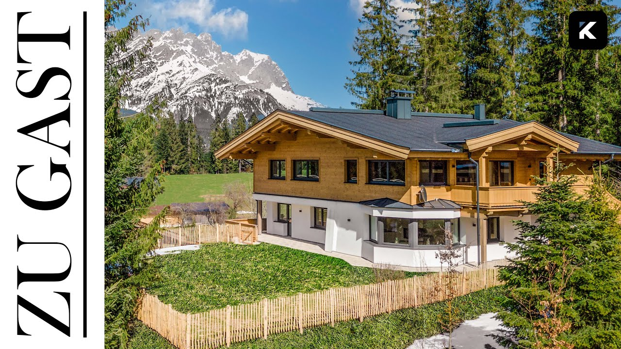 Haustour: Landhaus in Tirol, Ellmau mit Blick auf Wilden Kaiser, Nähe Bergdoktor