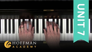 Major & Minor Triads - Piano Lesson 135 - Hoffman Academy