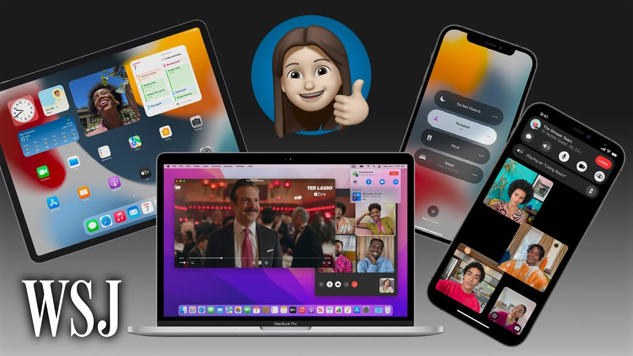 iOS 15, iPadOS 15, MacOS Monterey: 10 Big Changes Coming to Your Apple Device   WSJ - Wall Street Journal thumbnail