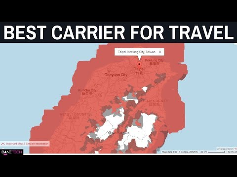 What's The Best Carrier Network For International Travel? My Experience with AT&T & Verizon