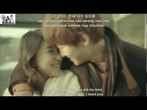 [MV/HD]K.will 케이윌_니가필요해(I need you) English Sub + roman + Hangul
