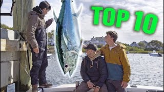 TOP 10 MOST INSANE FISHING MOMENTS! (North East Edition)