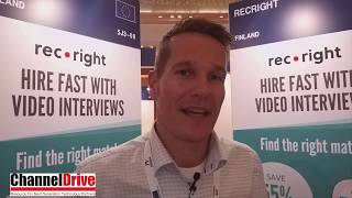 ConnecTechAsia 2019 | EU Pavillion, Riku Malkki, CEO, Recright