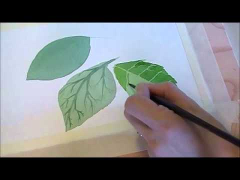 leaf painting techniques - photo #24