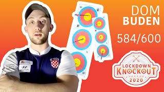 Dom Buden shoots 584/600 for qualification | Lockdown Knockout