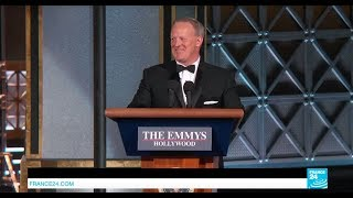US - Sean Spicer's surprise cameo at Emmy Ceremony sets social media ablaze