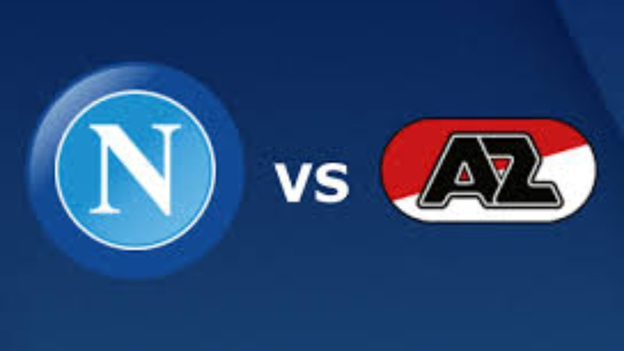 Napoli Vs Az Alkmaar Live Uefa Europa League Group Stage Youtube