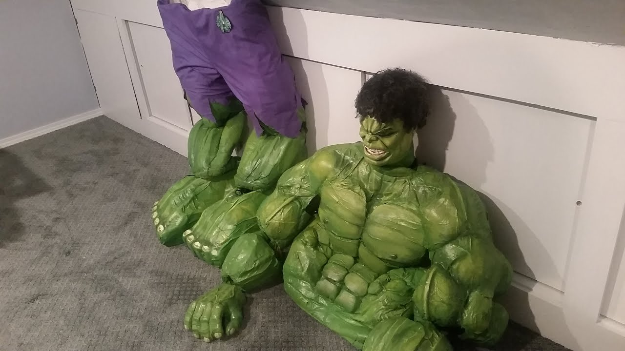 Hulk costume 7 8 years