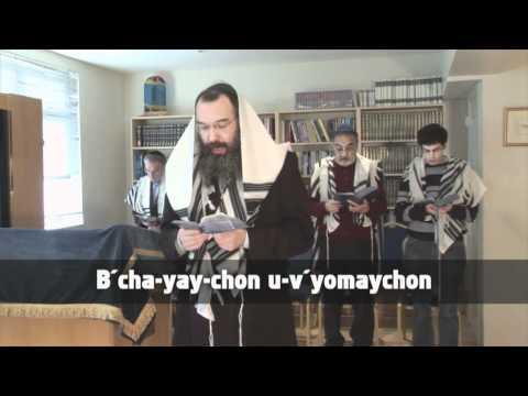 03 SMS: MOURNERS KADDISH (Chabad)