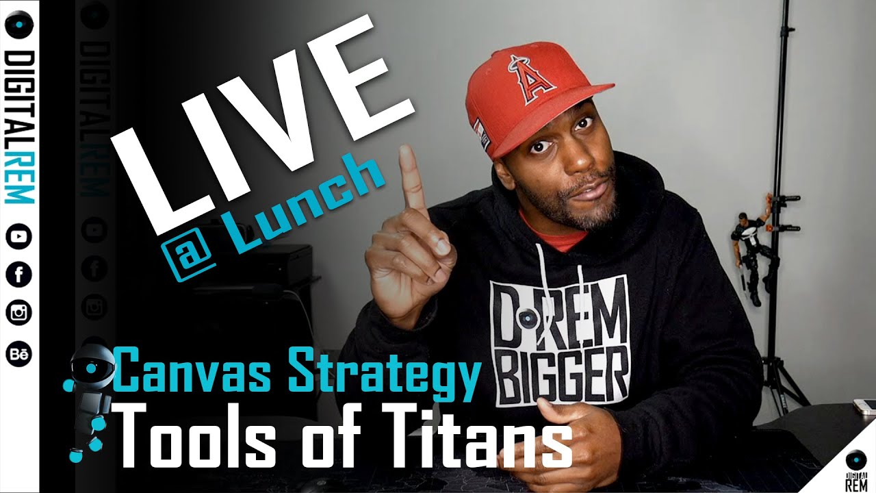 Live at Lunch |Tools Of Titans | Canvas Strategy