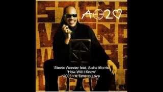 Stevie Wonder   How Will I Know feat  Aisha Morris 360p