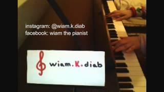 ahwaka bil amali (piano) - fairouz اهواك بلا امل - فيروز (بيانو)