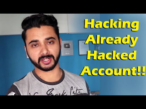 A Hacker Trying