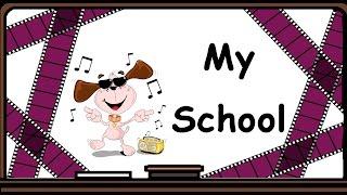 Видеоурок по английскому языку: Стихотворение My School