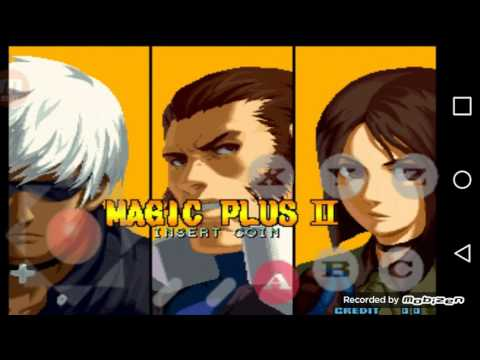 Como Descargar The King Of Fighters 2002 Magic Plus 2 para android/tablet