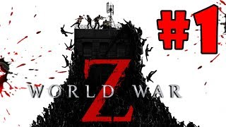 World War Z Walkthrough Part 1 New York Descent PC HD 1080p60FPS