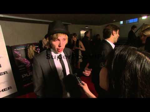 Bronson Webb at Pusher Gala Screening at Hackney Pictureh...