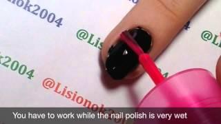 How to create Drag Marble Neon Mani / Сухой Мраморный Неоновый Маникюр(, 2014-08-22T05:27:08.000Z)