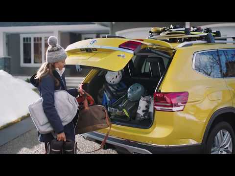 2018 VW Atlas- Easy Open Power Tailgate