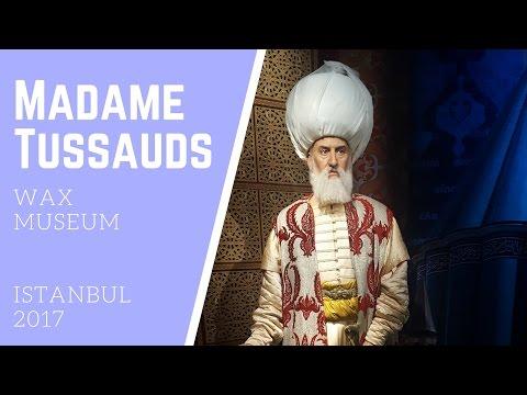 Madame Tussauds Wax Museum Istanbul 2017