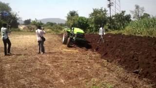 preet tractor plough demoin karad