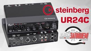 Steinberg UR24C - доступная звуковая карта для домашней студии с DSP процессором