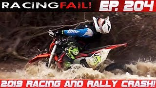 Racing and Rally Crash Compilation 2019 Week 204