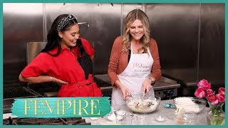 'Fempire': Ayesha Curry Helps Working Mom with Baking Business