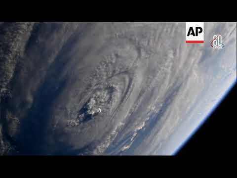 NASA releases new images of Florence from ISS