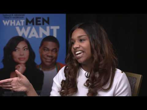WHUT Digital - What Men Want Interview Ft. Taraji P. Henson & Adam Shankman