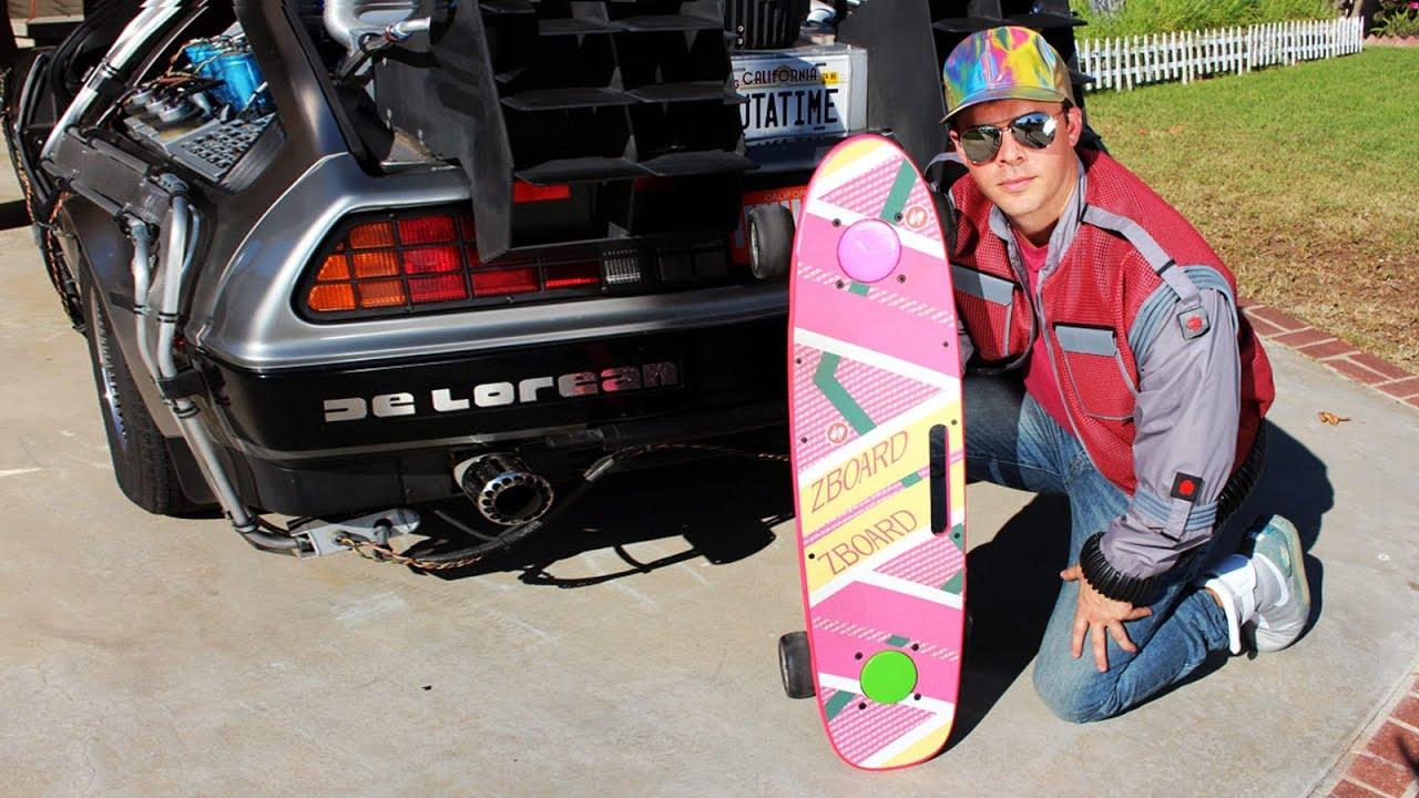 Videos De Volver Al Futuro El Skate A Motor De Marty
