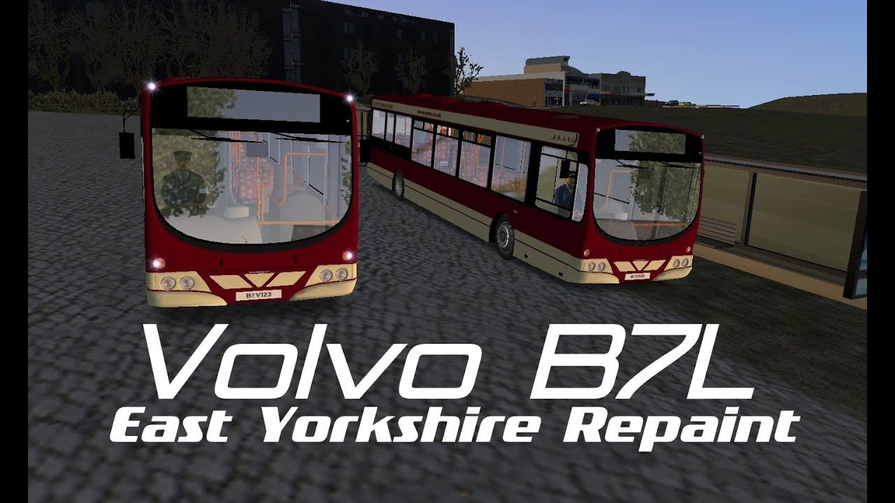 OMSI 2 The Bus Simulator - Volvo B7L - Wright Eclipse Metro - East Yorkshire Motor Services ...