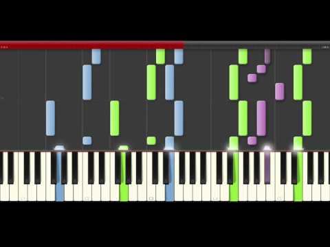 12 Days of Christmas piano midi tutorial sheet partitura  app karaoke