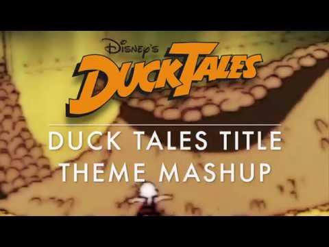 Duck Tales Title Theme Mashup 1987 TVRemaster2017 TV