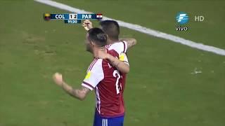 Colombia 1 - Paraguay 2 (Goles) Relatos Ruben Dario Da Rosa!