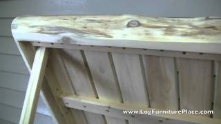 Log Pool Box | Log Deck Box From The Cedar Lake Collection