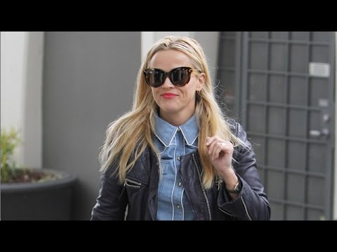 X17 EXCLUSIVE: Reese Witherspoon Is Super Darling In Her Work Attire