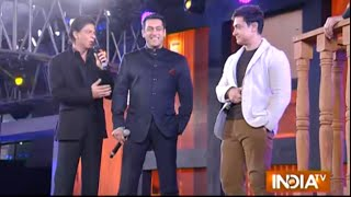 Bollywood Khans Attend Mega Event to Celebrate Aap Ki Adalat's 21st Anniversary