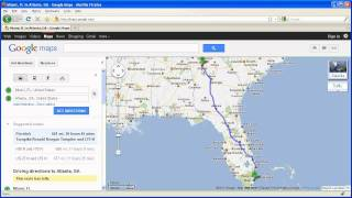 Getting Directions on Google Maps (Basics) Free HD Video