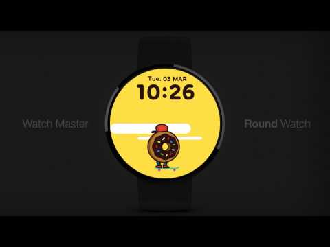 SK8 Donut watchface by Atmos