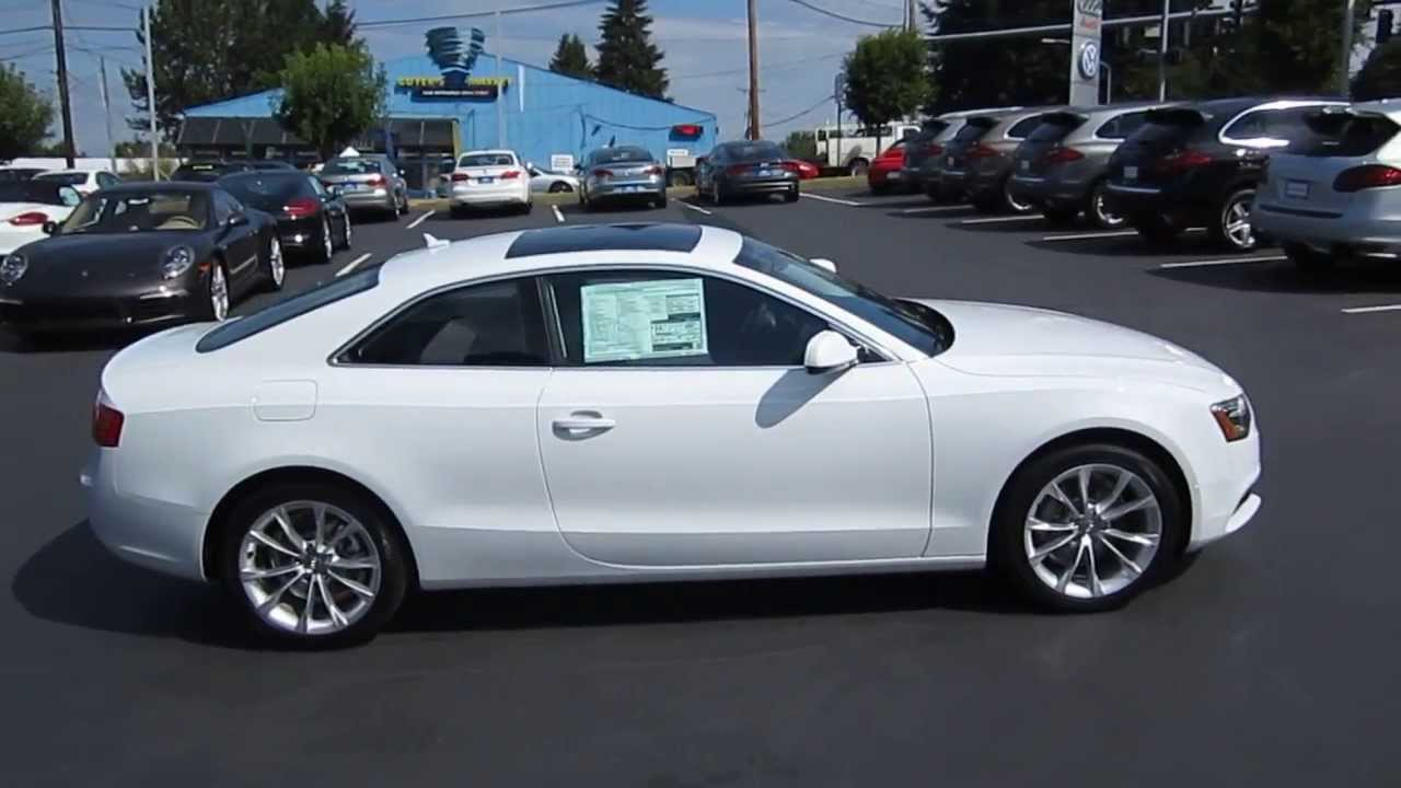 2014 Audi A5 Glacier White Stock 109430 Youtube