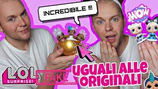 LOL Surprise FAKE Uguali alle ORIGINALI !!!