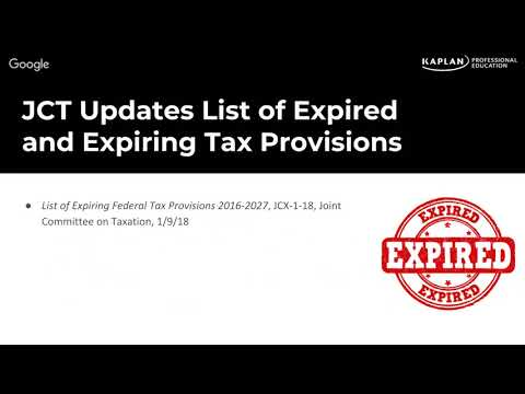 Current Federal Tax Developments - January 15, 2017