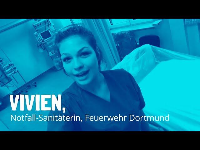 Vivien Notfall Sanitäterin