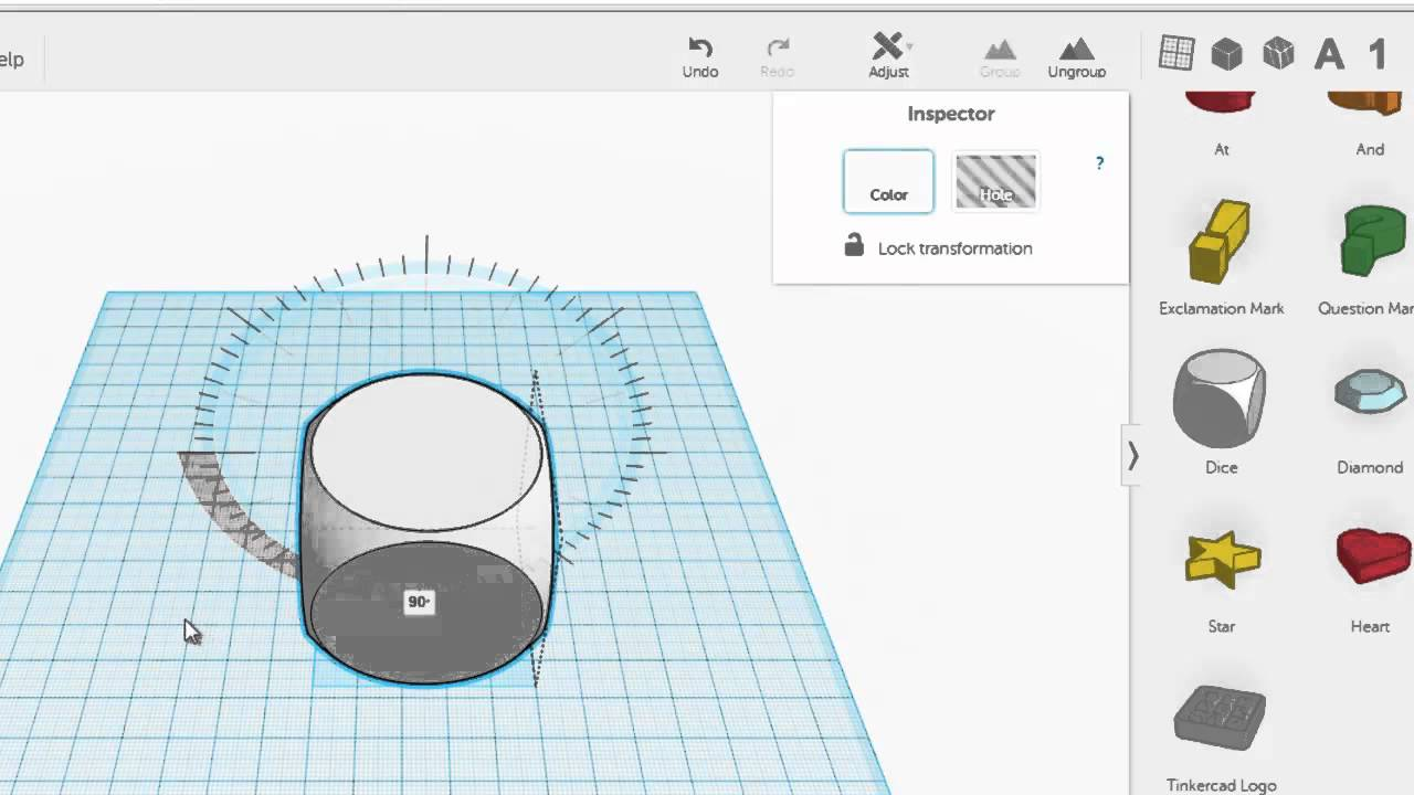 Tinkercad T Ring Inkscape Youtube