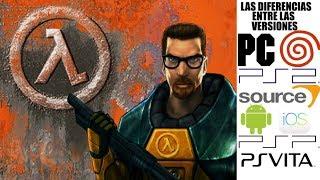 Las Diferencias entre las versiones de Half Life